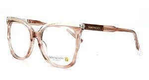 Óculos Armação Sabrina Sato Ss630 C3 Marrom  Translucido