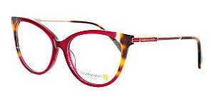 Óculos Armação Sabrina Sato Ss583 C3 Vermelho  Mesclado