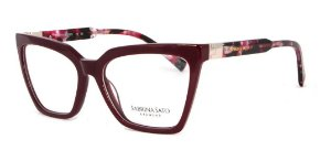 Óculos Armação Sabrina Sato Ss152 C2 Vinho Acetato Feminin