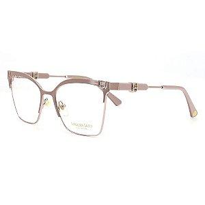 Óculos Armação Sabrina Sato SS671 C3 Nude Metal Feminino