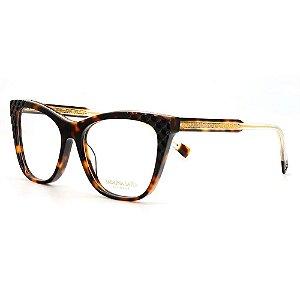 Óculos Armação Sabrina Sato SS606 C3 Tartaruga Acetato