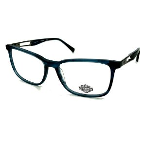 Óculos Armação Harley Davidson HD0873 091 Azul Translucido