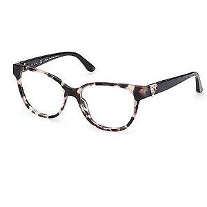 Óculos Armação Gues GU2855-S 074 Rosa Mesclado Feminino