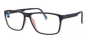 Óculos Armação Zeiss Zs-20009 F540 Preto Acetato Masculino