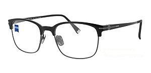 Óculos Armação Zeiss Zs-30007 F090 Masculino Haste Titanium