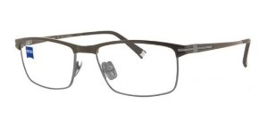 Óculos Armação Zeiss Zs-40011 F011 Marrom Masculino Titanium