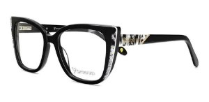 Óculos Armação Carmen Vitti Cv0161 C3 Preto Feminino