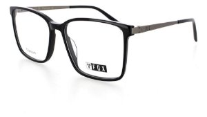 Óculos Armação Fox 273c1 Acetato Preto Masculino