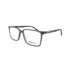 Óculos Armação Romano RO1086 C2 Preto Fosco Acetato Masculin