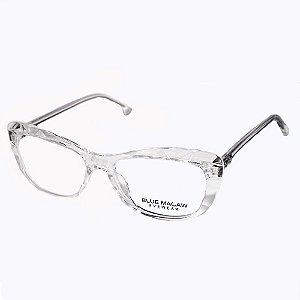Óculos Armação Blue Macaw Cf-a5033 C2 Feminino Translucido