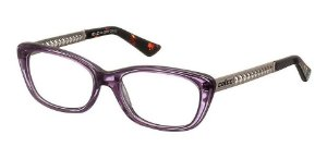 Óculos Armação Colcci C6011 C0551 Roxo E Prata Feminino