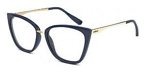 Óculos Armação Colcci C6125 K1157 Azul Acetato Feminino