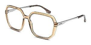 Óculos De Grau Colcci C6127 J29 56 Marrom Translucido