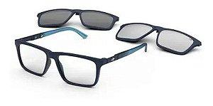 Óculos Armação Mormaii Swap 4 M6112kc655 Azul Clip-on