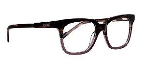 Óculos Armação Evoke Square C01 Madeira Clip Masculino