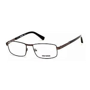 Óculos Armação Harley Davidson HD0751 009 Cinza Metal