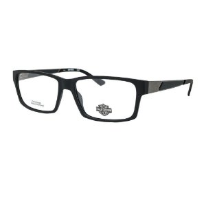 Óculos Armação Harley Davidson HD0829 002 Preto Masculino