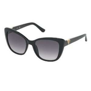 Óculos Solar Guess GU7600 01B Preto Acetato Feminino