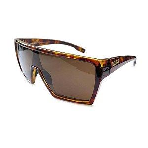 Óculos Solar Evoke Bionic Alfa G21 Marrom Tartaruga Acetato