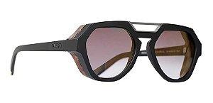 Óculos De Sol Evoke Avalanche Unissex Wd01 Preto Degrade