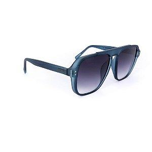 Óculos Solar Evoke EVK36 D01 Azul Translucido Fosco Acetato
