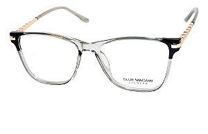 Óculos Armação Blue Macaw Tr20119 C5 Feminino Translucido
