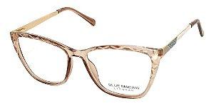 Óculos Armação Blue Macaw Fd633135 C5 Translucido Feminino