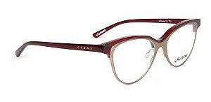 Óculos De Grau Evoke Influence 2 T01 Vermelho Dourado