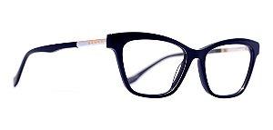 Óculos De Grau Evoke For You Dx22 T01 Azul Metal Cinza