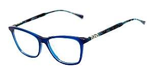 Óculos Armação Evoke For You Dx18 T02 Azul Mesclado