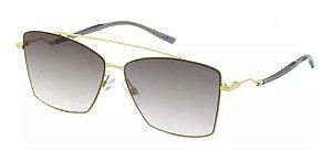 Óculos De Sol Hickmann Hi3074 04b Dourado / Espelhado
