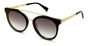 Óculos Solar Hickmann Hi9080 A01 Preto Com Dourado Feminino