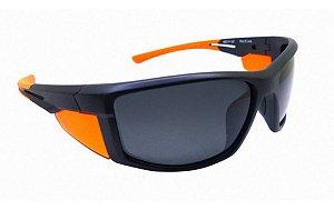 Óculos De Sol Speedo Pro5 A02 Preto Com Laranja Polarizado