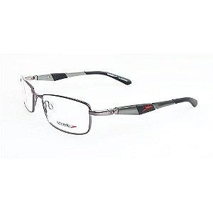 Óculos Armação Speedo SP1333 02A  Masculino Metal Prata