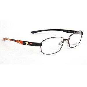 Óculos Armação Speedo SP1336 01A Masculino Metal Grafite