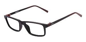 Óculos Armação Speedo Sp7014  Preto Fosco Com Marrom A01