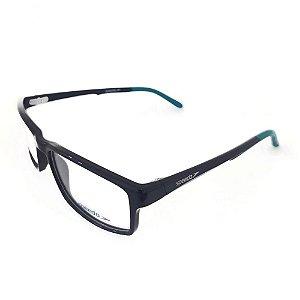 Óculos Armação Speedo SP7049I A01 Preto Brilho Verde