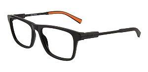 Óculos Armação Harley-davidson Hd9008 001 Preto Brilho