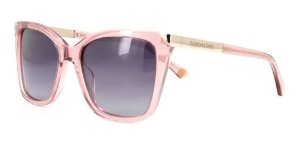Óculos De Sol Sabrina Sato Ssk6002 C2 Rose Lente Escura