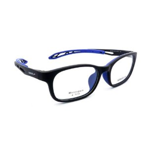 Óculos Armação Speedo SPK 4006N H02 Preto com Azul Acetato