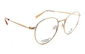 Óculos Armação Bulget Bg1665tn 04a Dourado Titanium Feminino