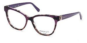 Óculos Armação Gant Ga4113 083 Violeta Acetato Feminino