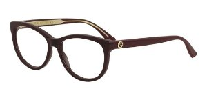 Óculos De Grau Gucci Gg0310o 003 Bordo