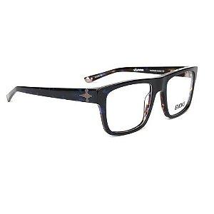 Óculos Armação Evoke Capo VIII G21 Azul Tartaruga Masculino