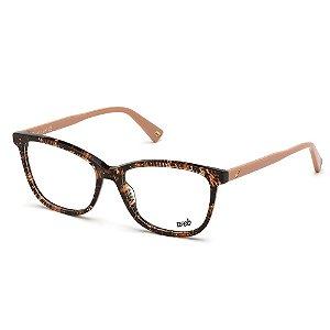 Óculos Armação Web WE5314 056 Tartaruga Acetato Feminino