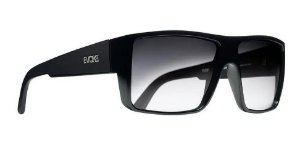 Óculos De Sol Evoke Br07 The Code Preto Lente Escura Degrade