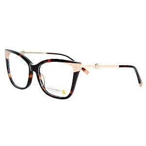 Óculos Armação Sabrina Sato SS613 C2 Marrom Mesclado