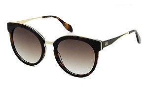 Óculos De Sol Ana Hickmann Ah9263 G21 Marrom / Degrade