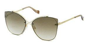 Óculos De Sol Ana Hickmann Ah3175 04c Dourado / Degrade
