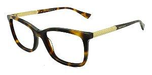 Óculos Armação Ana Hickmann Ah6266 G21 Marrom  Mesclado